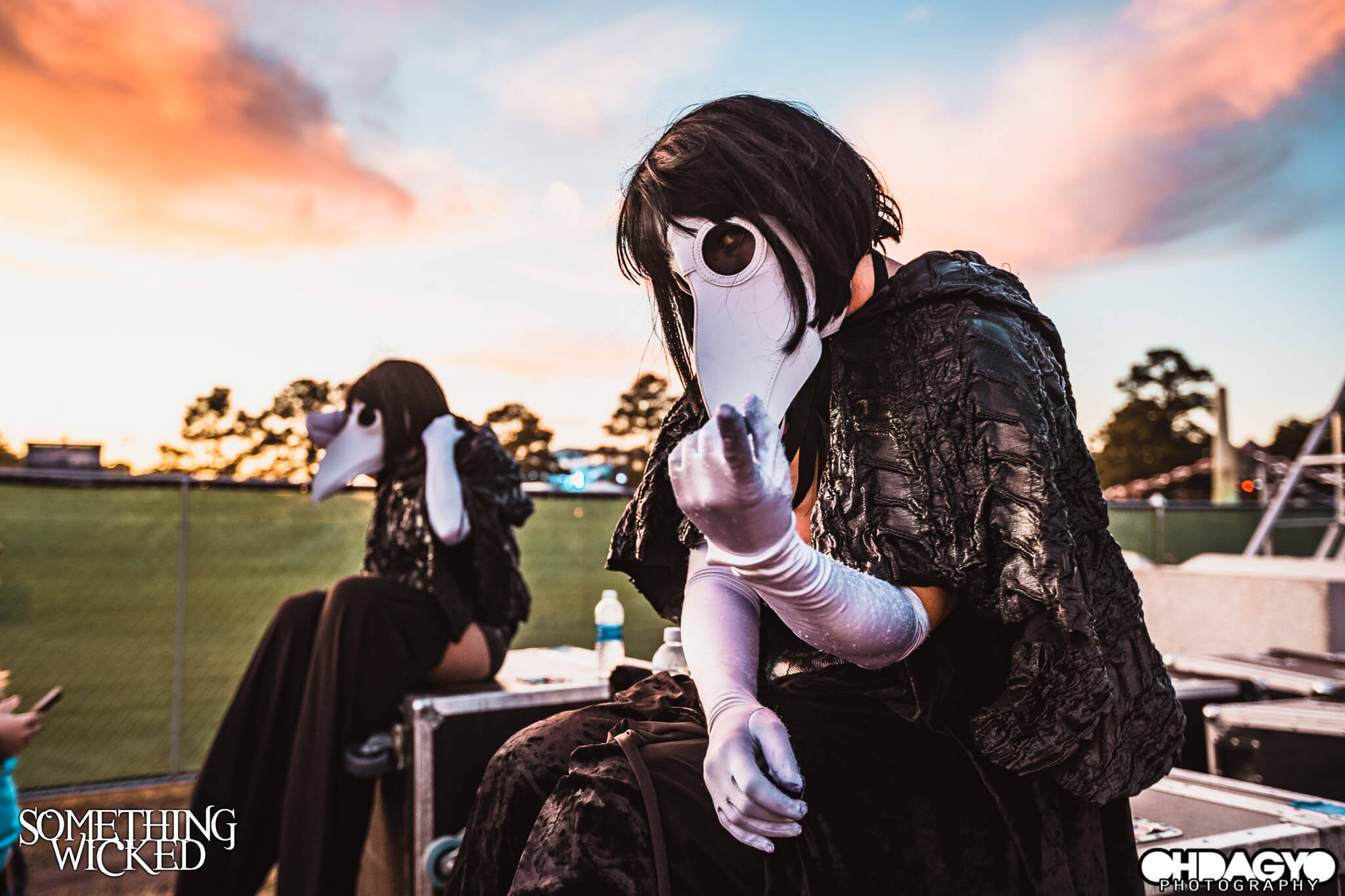 wicked festival performer