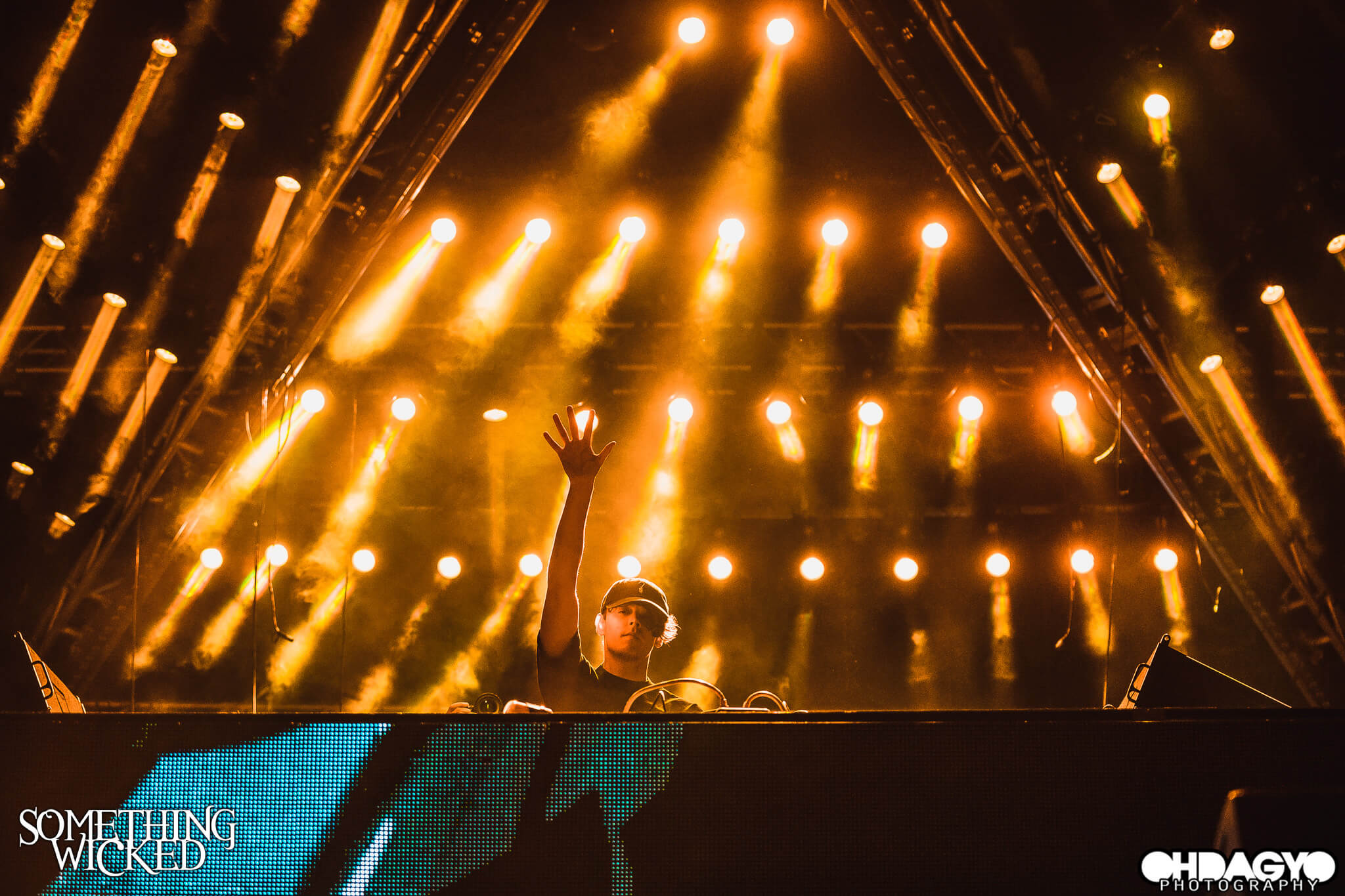 stage production at something wicked