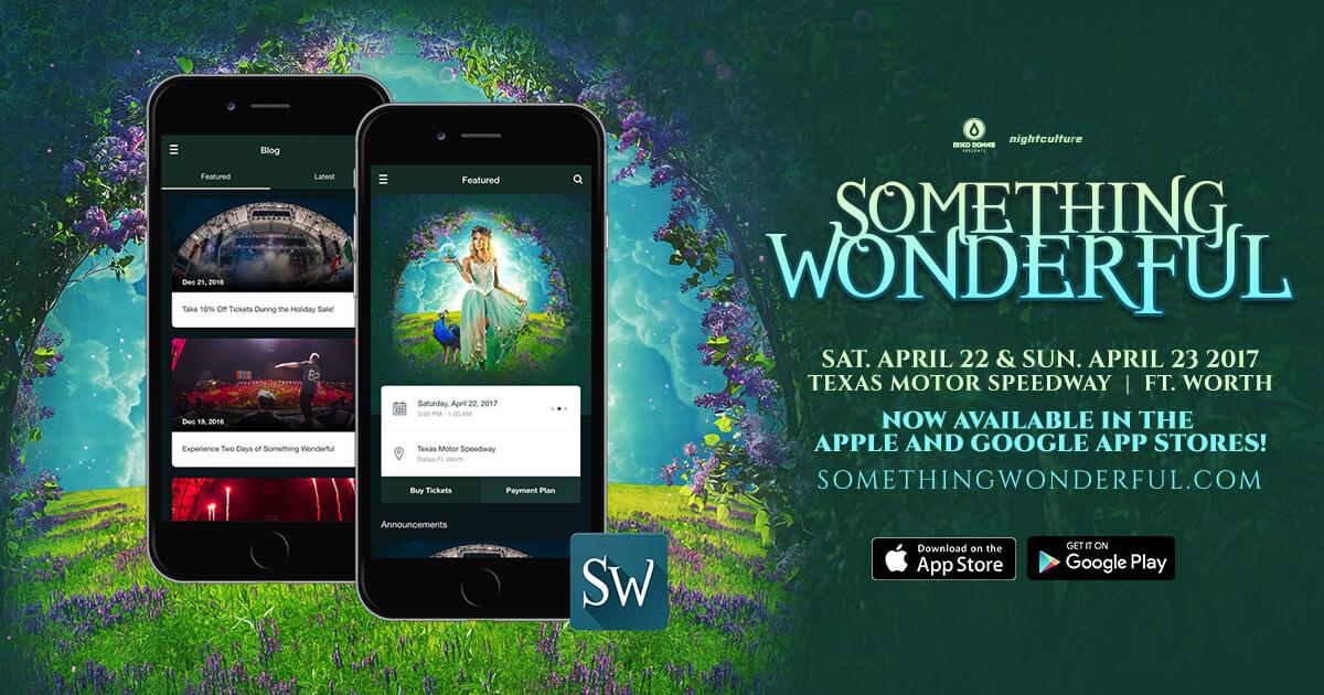 Something Wonderful Mobile App