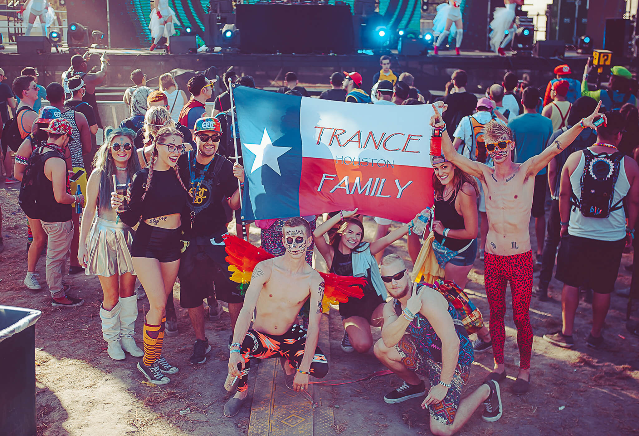 texas trance fam at something wicked festival