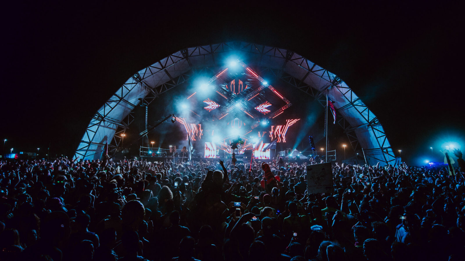 stage production at something wicked festival