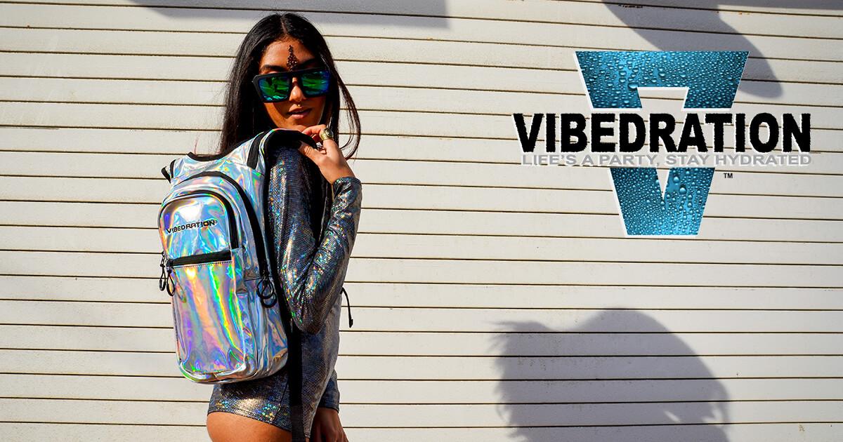vibedration hydrating backpacks