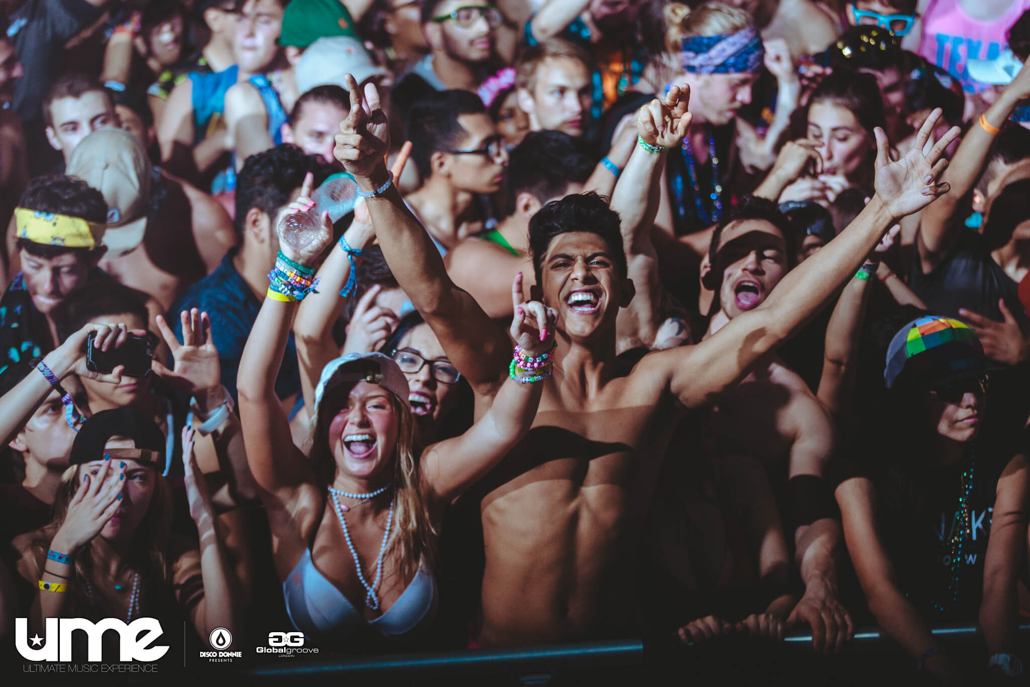 fans in the crowd at ume 2016