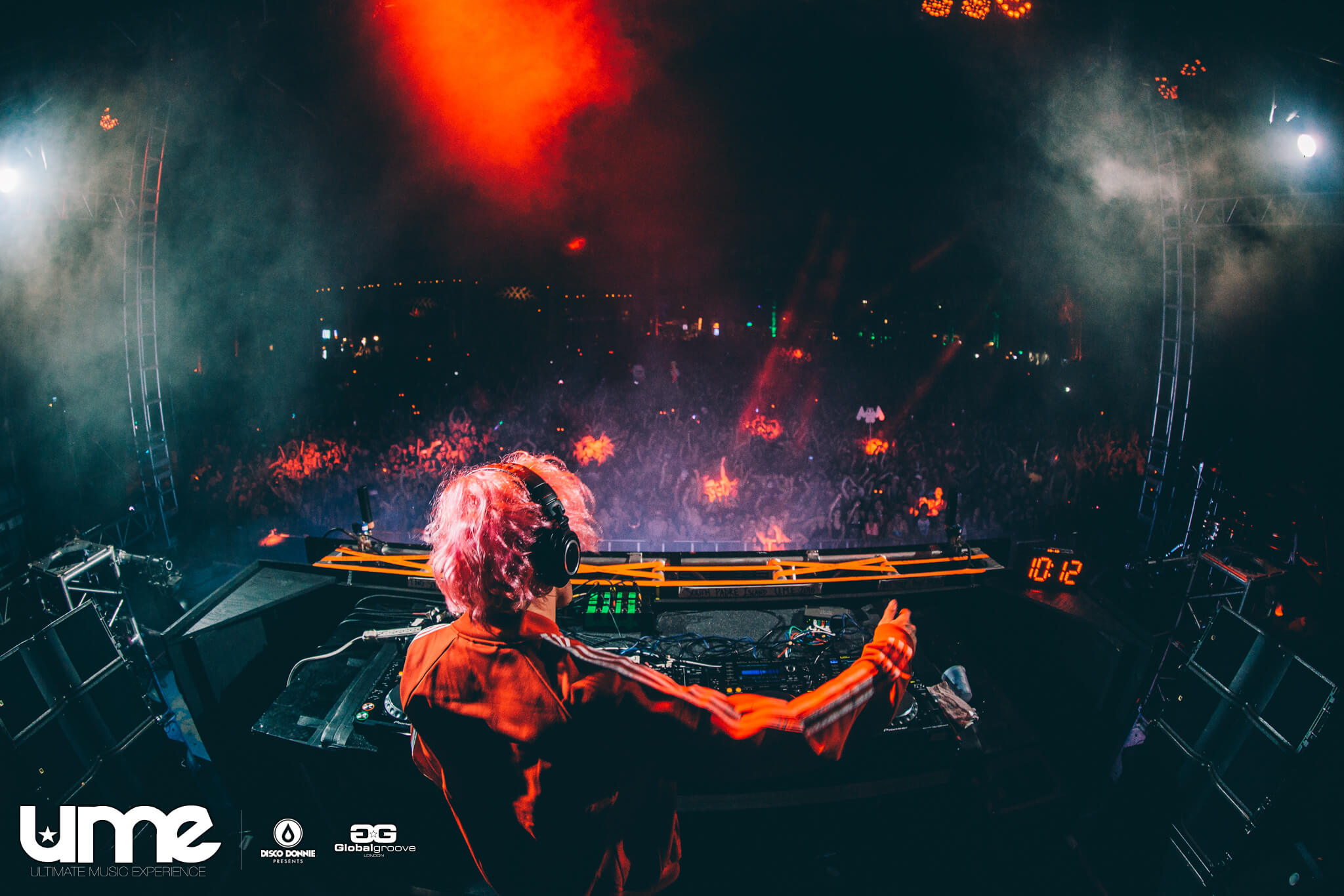 jackal live at the ume pre-party 2016