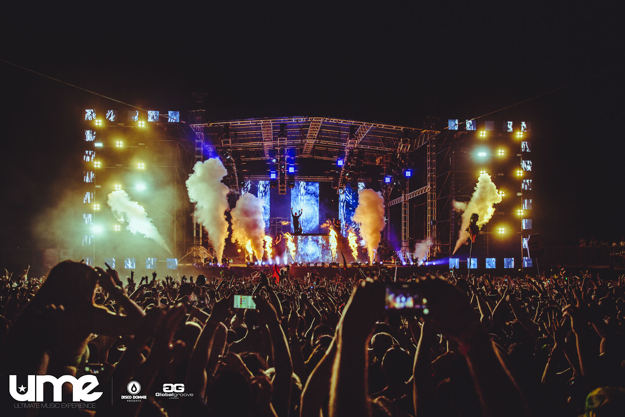 stage production at ume 2016