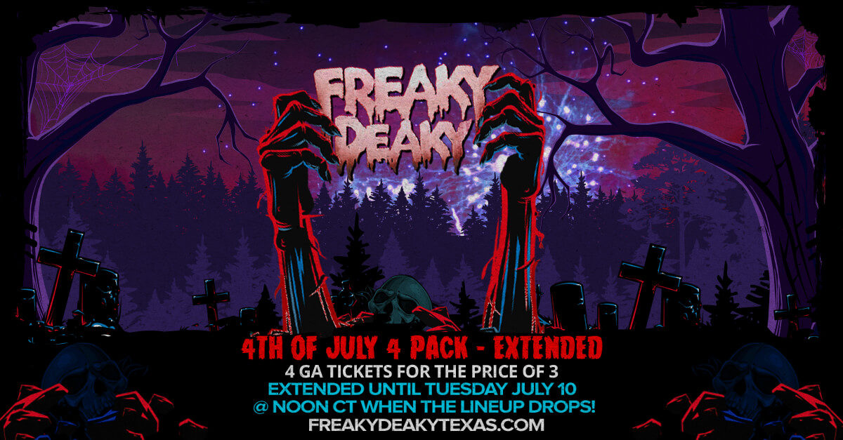 4th of July 4 Pack Deal Extended