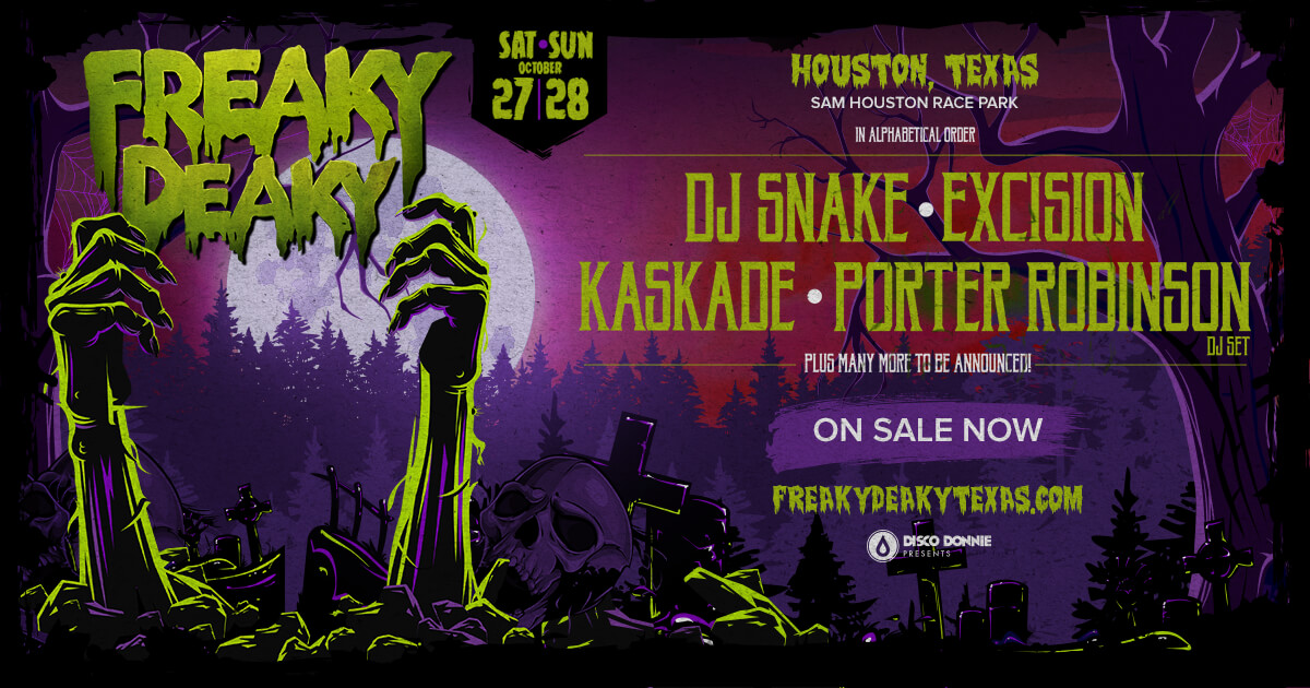 Freaky Deaky Early Bird Tickets Now on Sale