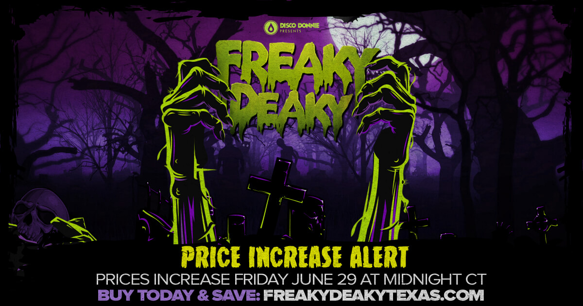 Ticket Prices Increase Friday at Midnight