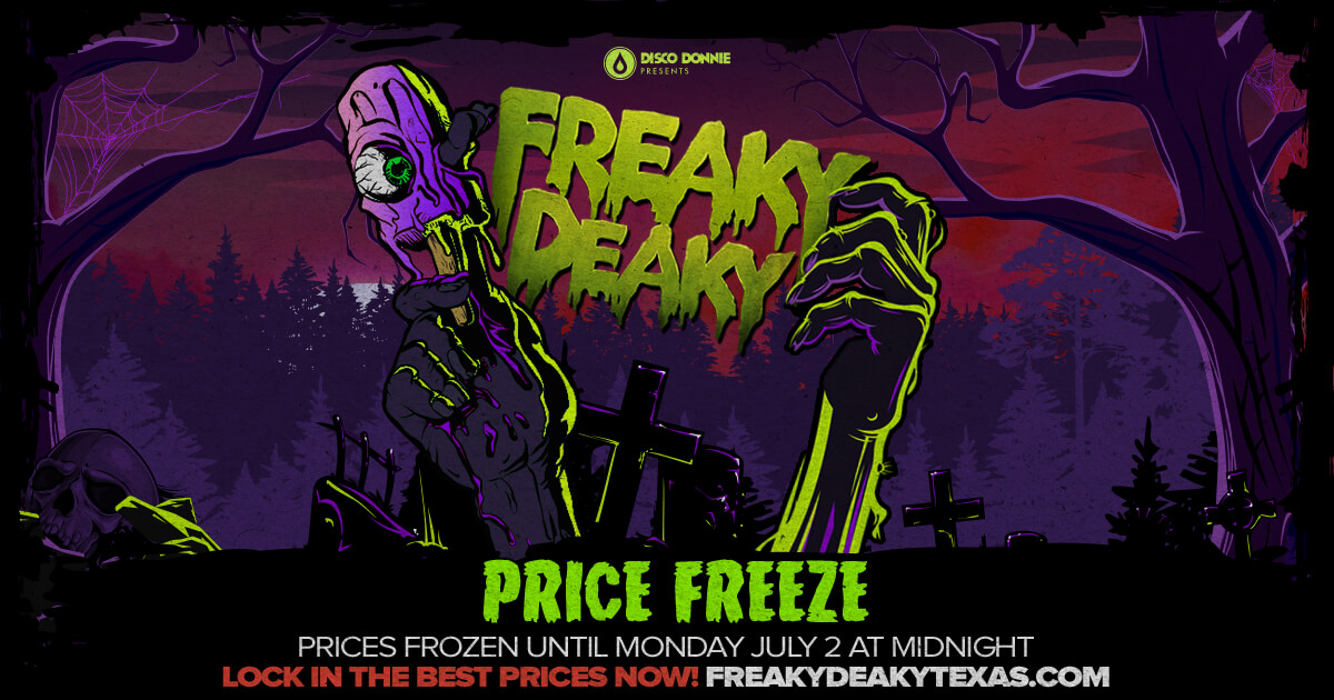Prices Frozen Until Monday at Midnight