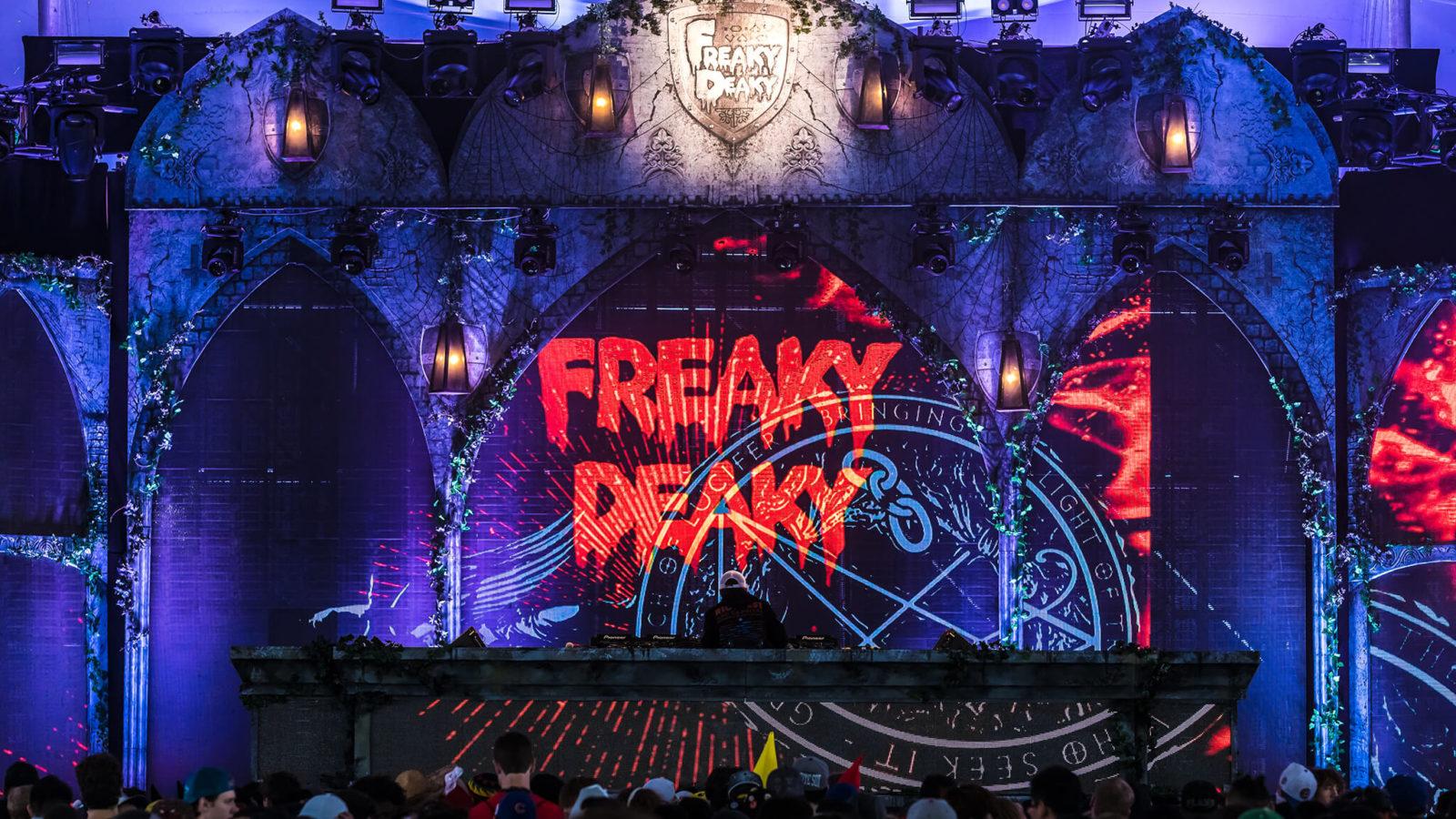 freaky deaky stage