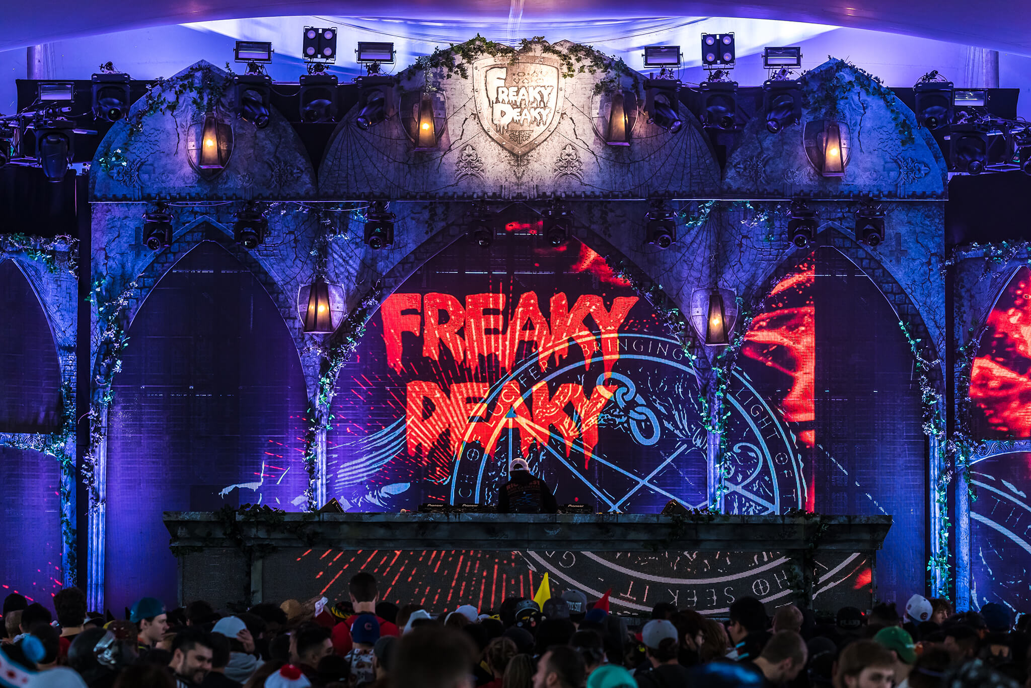 freaky deaky stage