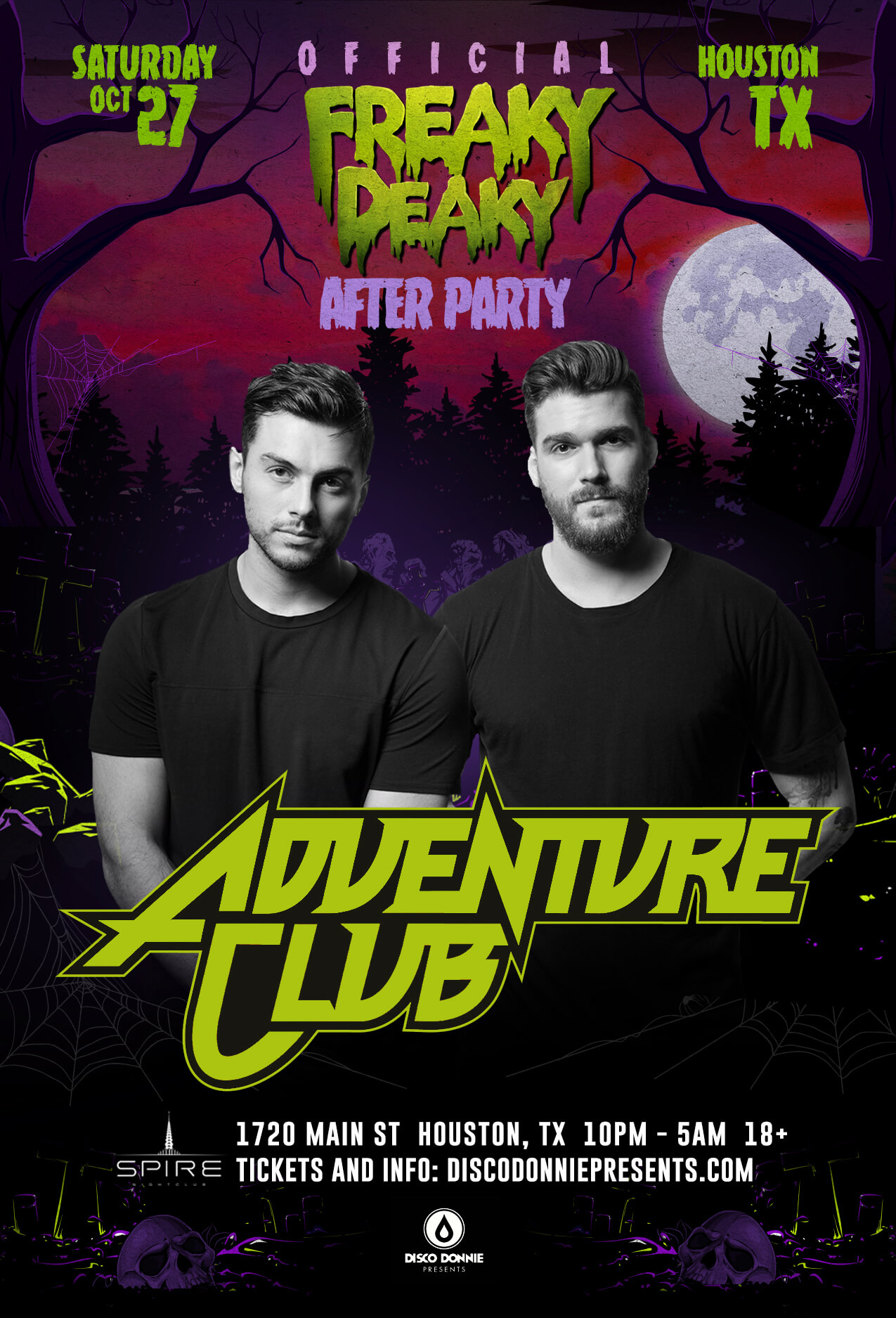 afterparty with adventure club on saturday