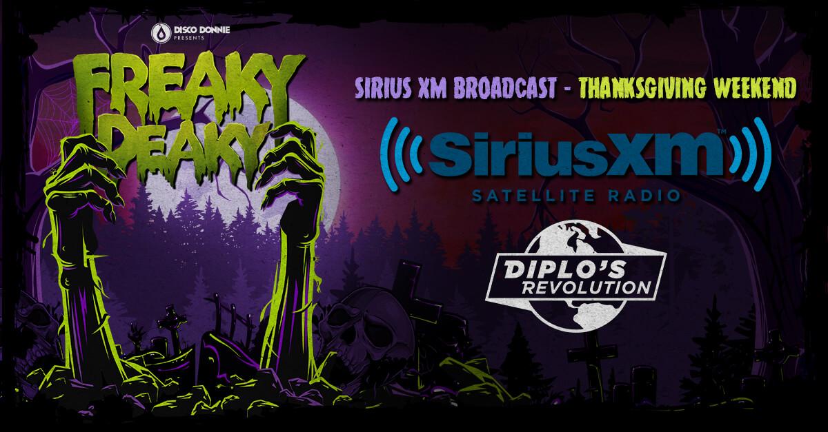 Freaky Deaky Sirius XM Broadcast