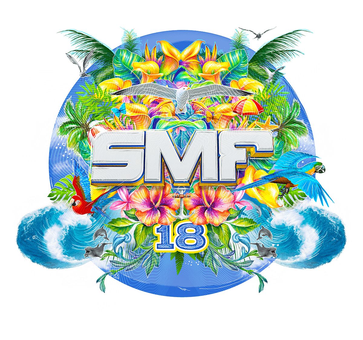 logo for Sunset Music Festival 2018