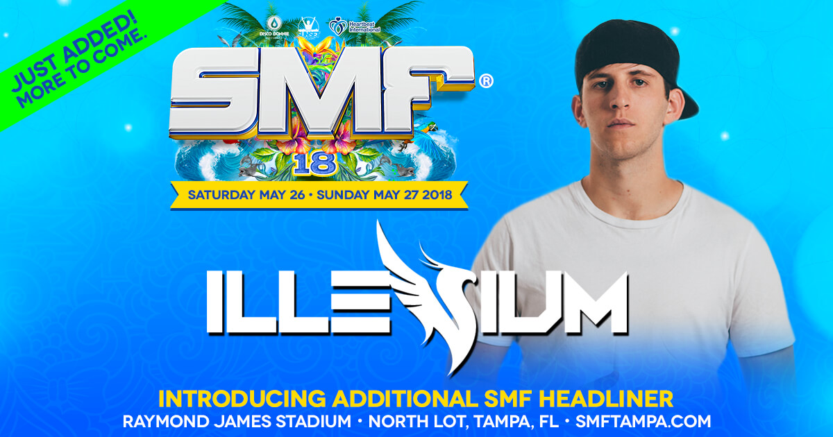 Illenium joins the SMF 2018 lineup