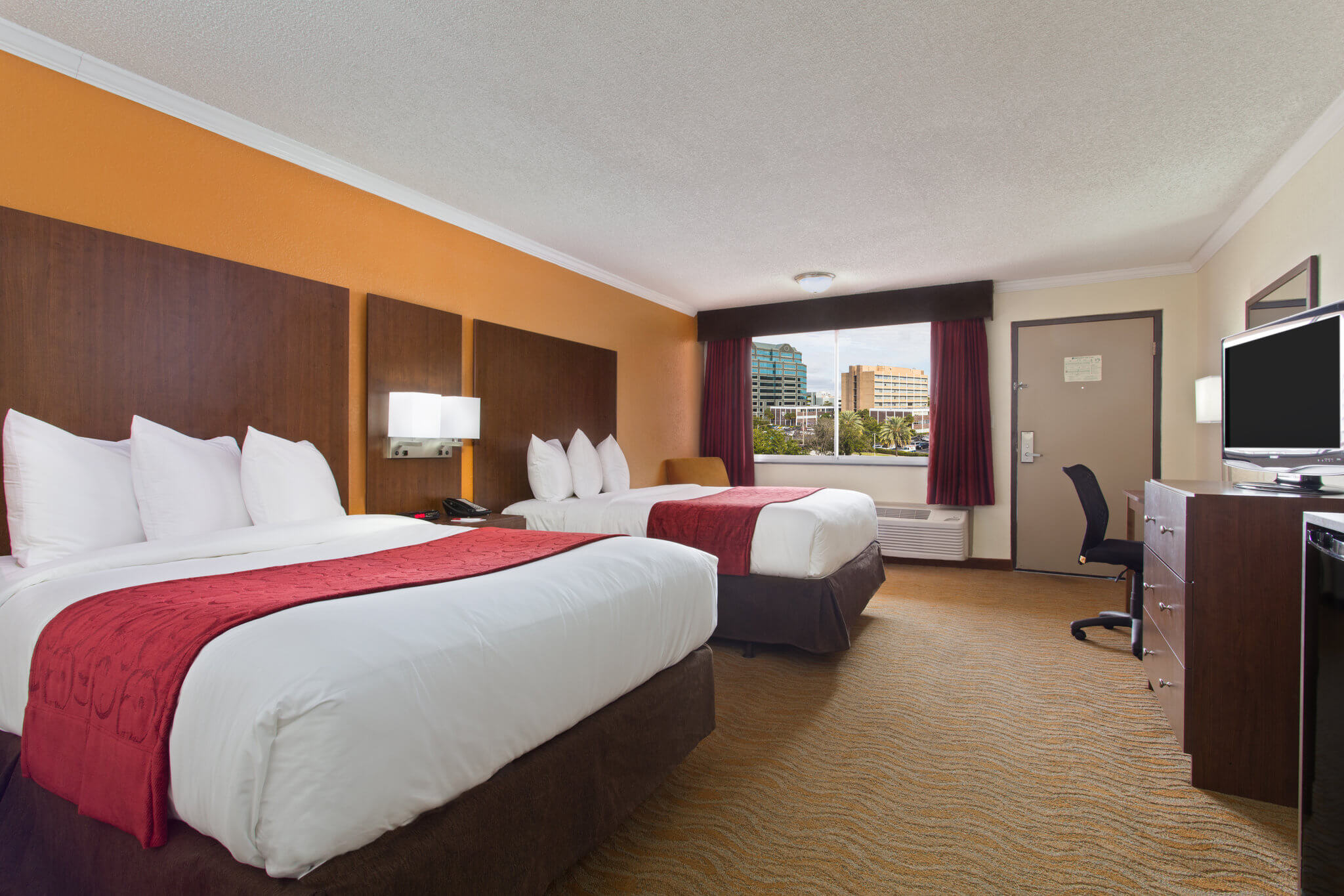 Ramada Westshore Bedroom