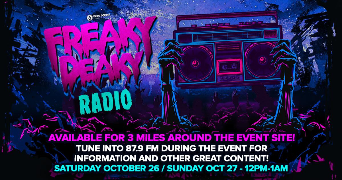 freaky deaky 2019 radio