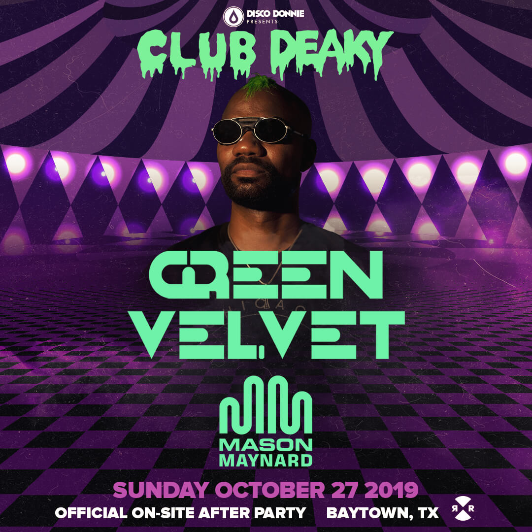 green velvet afterparty