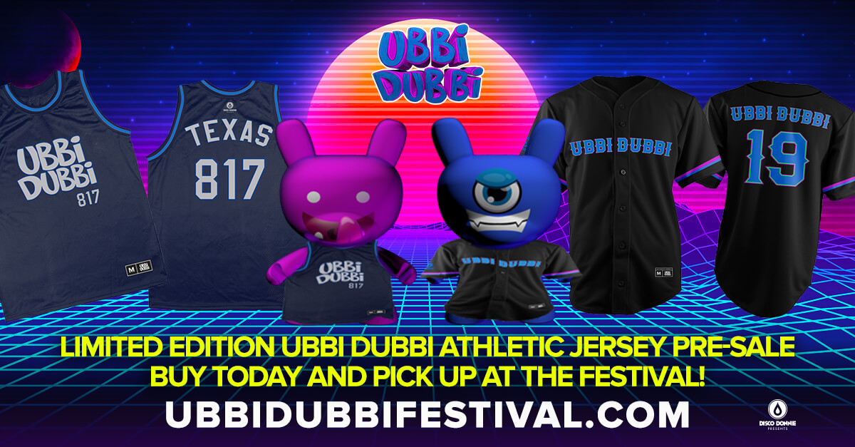 limited edition ubbi dubbi athletic jersey