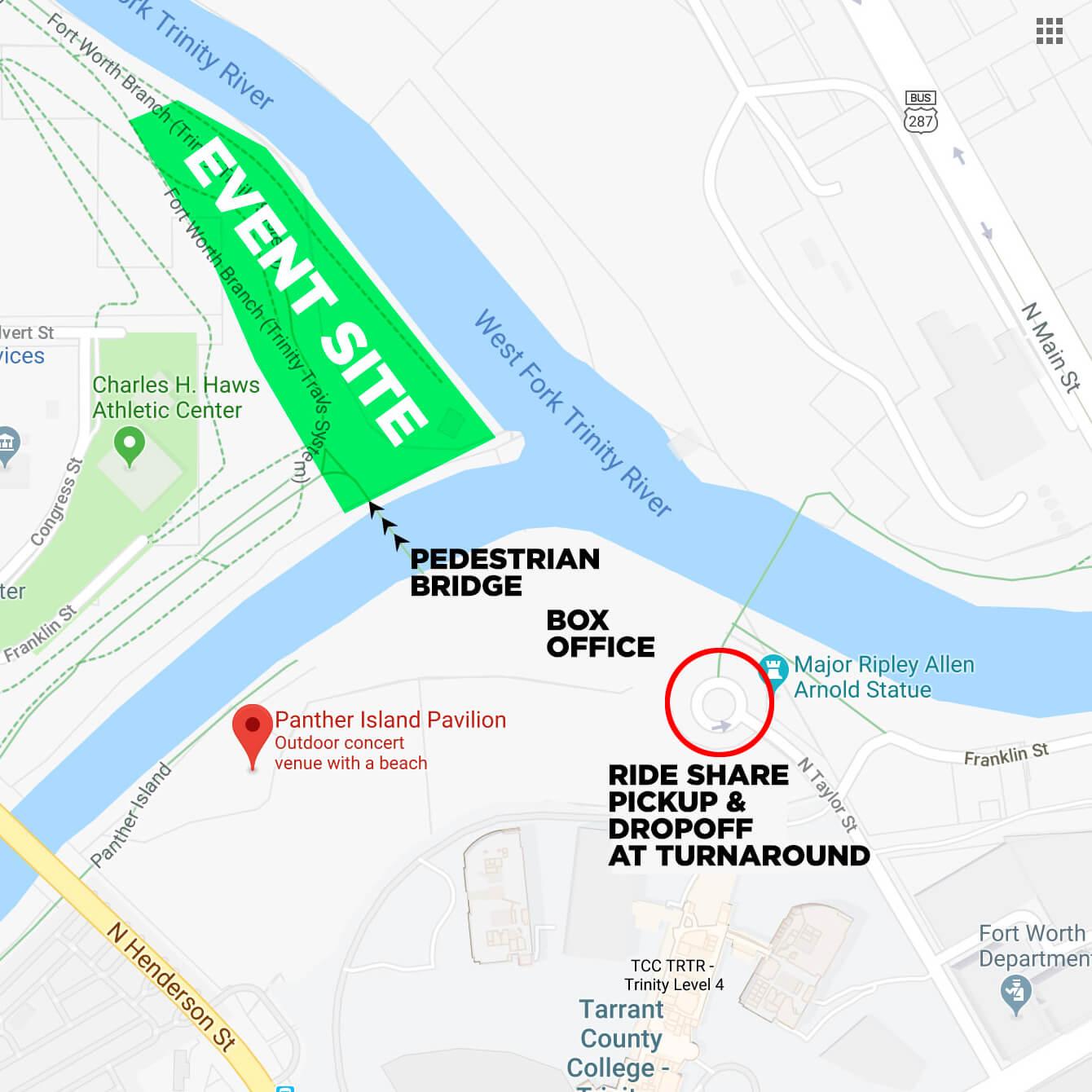 Rideshare Map for Ubbi Dubbi 2019