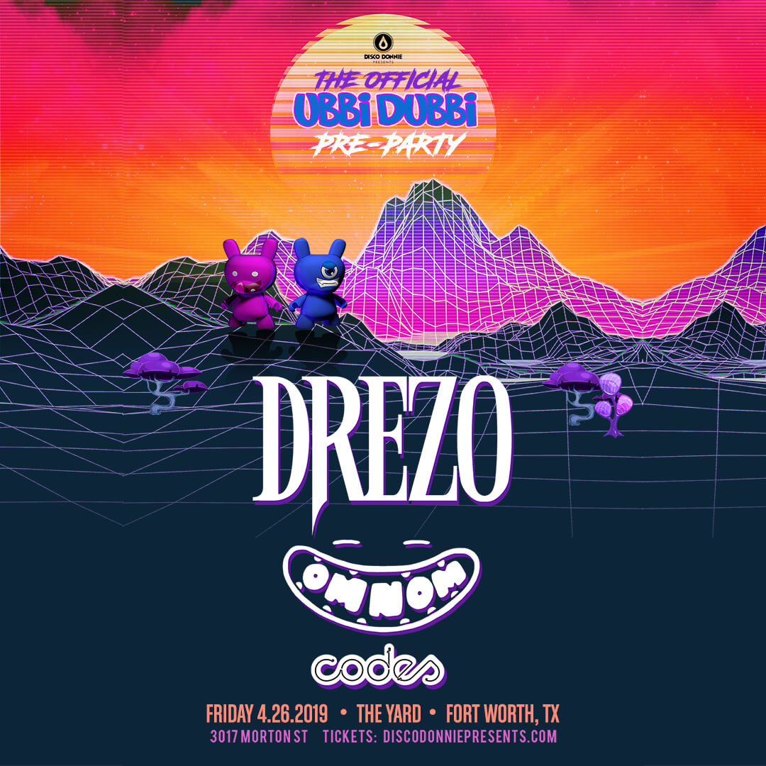Drezo Pre-Party on Friday