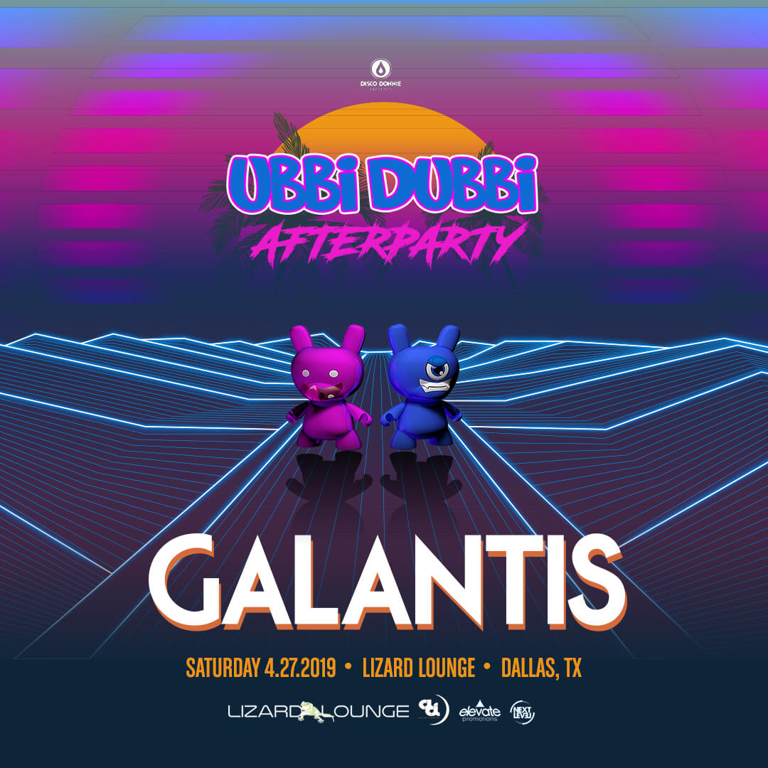 Galantis Afterparty on Saturday