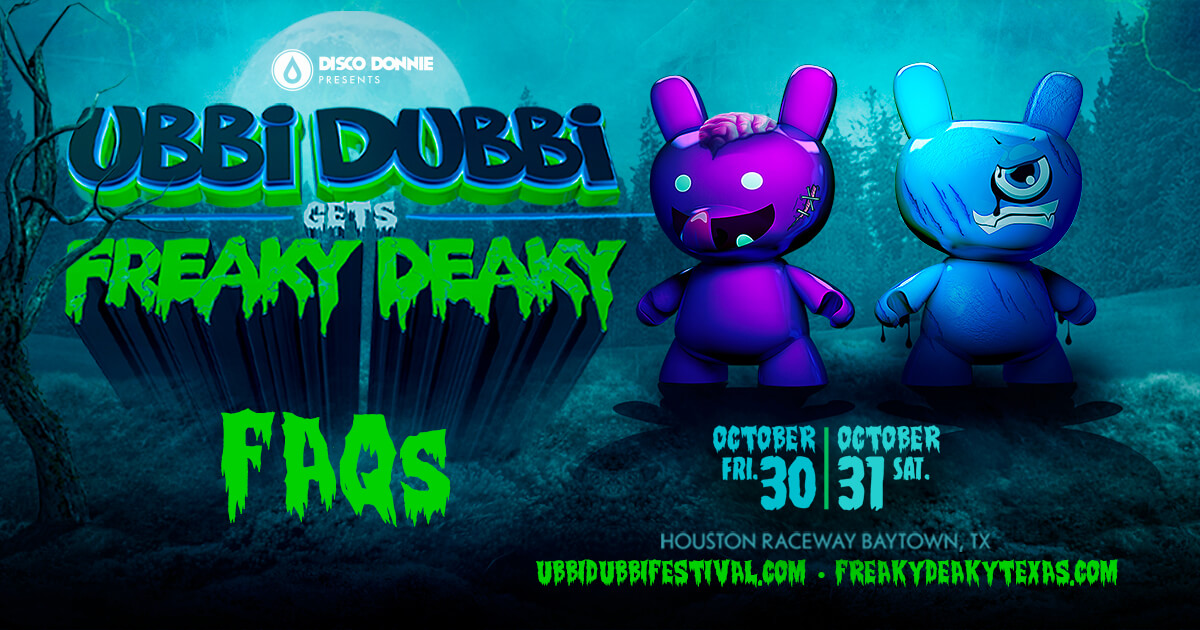 Ubbi Dubbi Gets Freaky Deaky FAQs