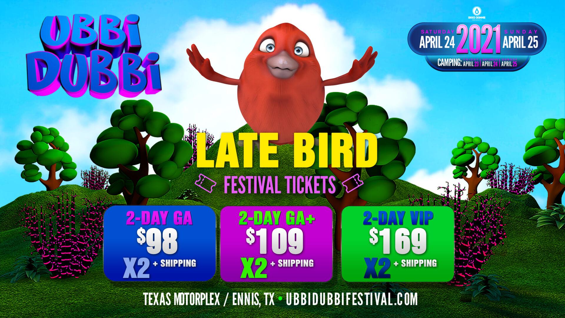 ubbi dubbi festival tickets payment plan