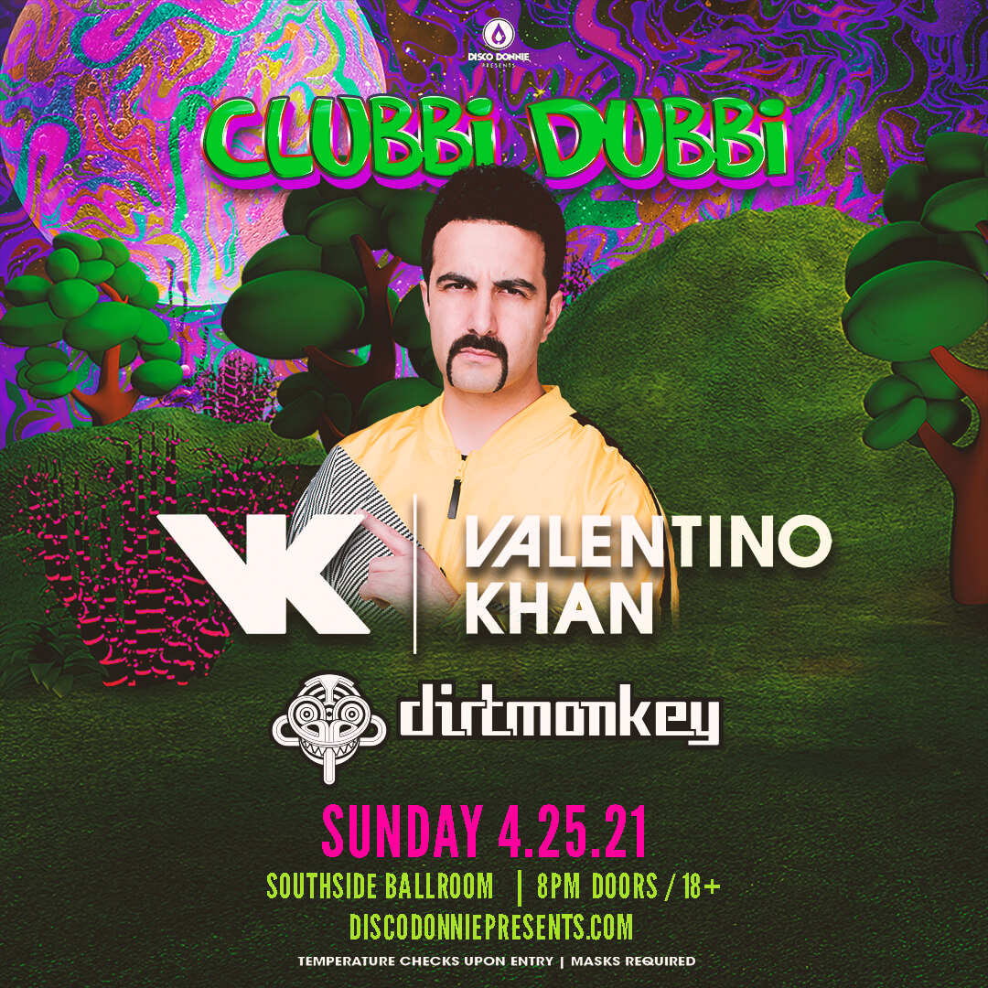 Valentino Khan + Dirt Monkey AfterParty on Sunday