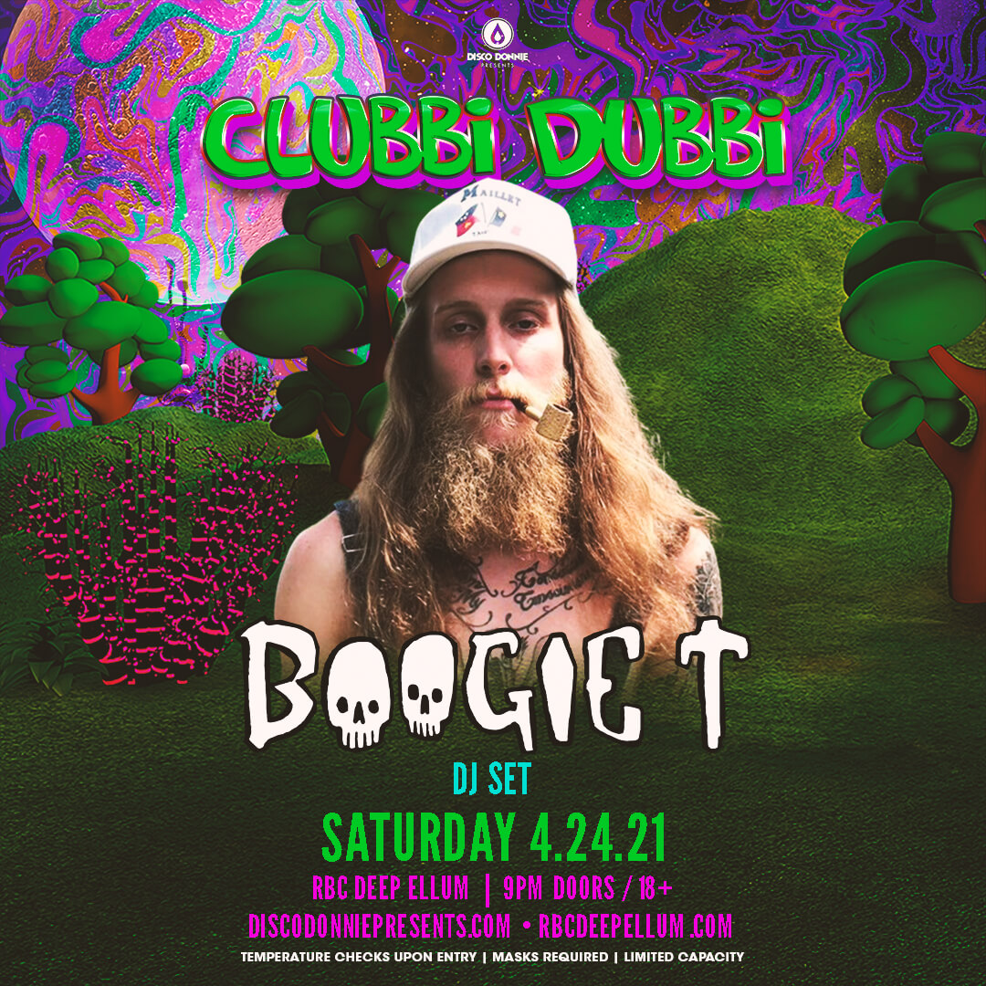 Boogie T Afterparty on Saturday