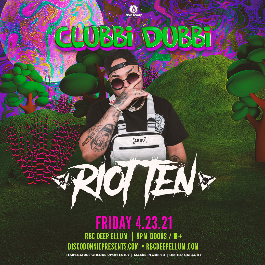 Riot Ten Pre-Party on Friday