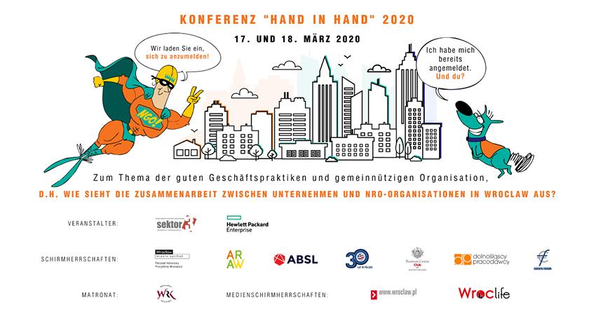 """Konferenz """"Hand in Hand"""" 2020"""