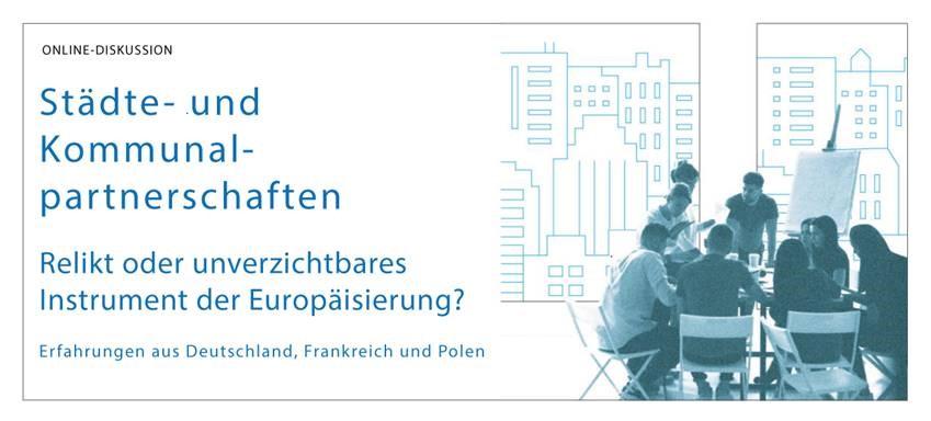 Einladung Online-Konferenz Städte- und Kommunalpartnerschaften zwischen Polen, Frankreich und Deutschland am 12. Oktober 2020