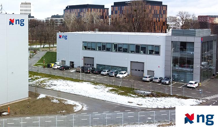 Der neue Hauptsitz der Unternehmen in der polnischen NG Engineering Gruppe