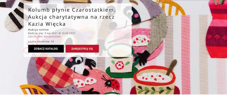 """Kolumbus segelt mit dem """"Czarostatek"""". Wohltätigkeitsauktion zu Gunsten von Kazio Więcek"""