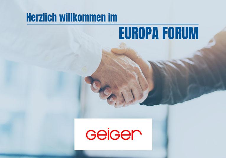 Wir begrüßen unsere neue Mitgliedsfirma: Wilhelm Geiger GmbH & Co. KG