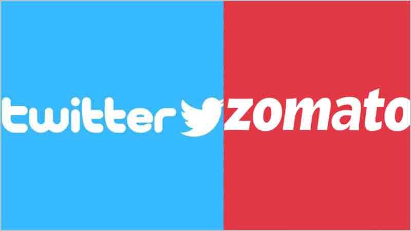 Twitter zomato