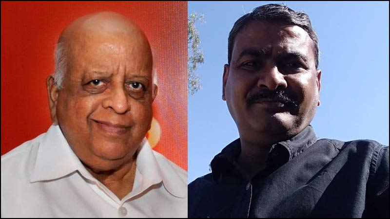 TN Seshan and Amitabh Shrivasta