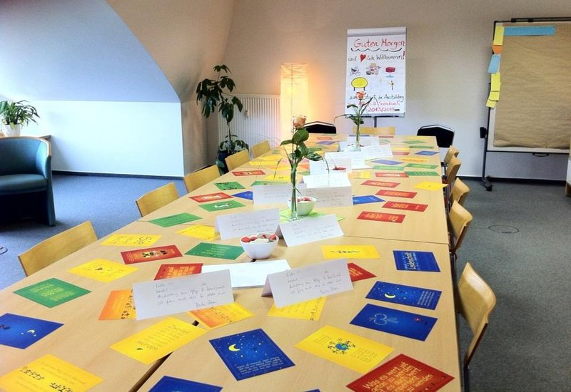 Seminarraum zum Start der Ausbildung zum Pflege- und Sozialcoach