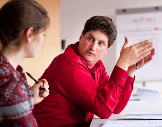 Markus Classen, Leiter der Ausbildung zum Pflege- und Sozialcoach