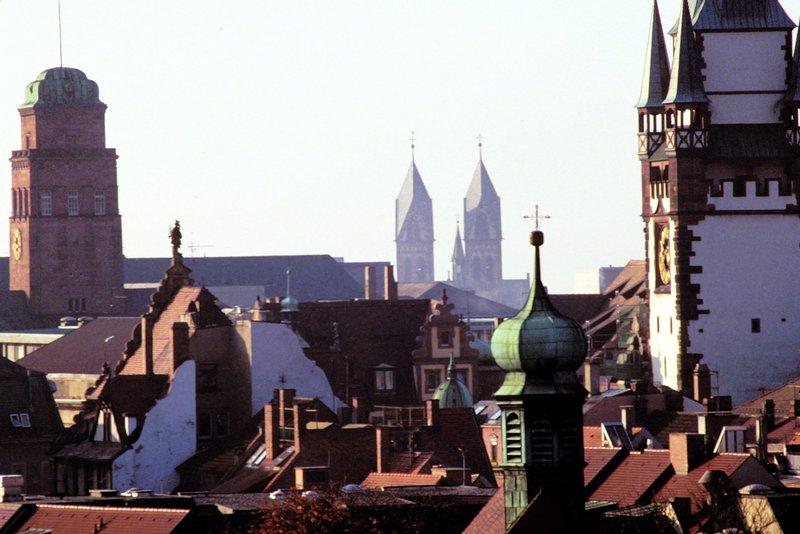 Die Universitätsstadt Freiburg