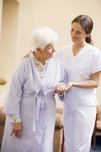 Servicemitarbeiter im Gesundheitswesen