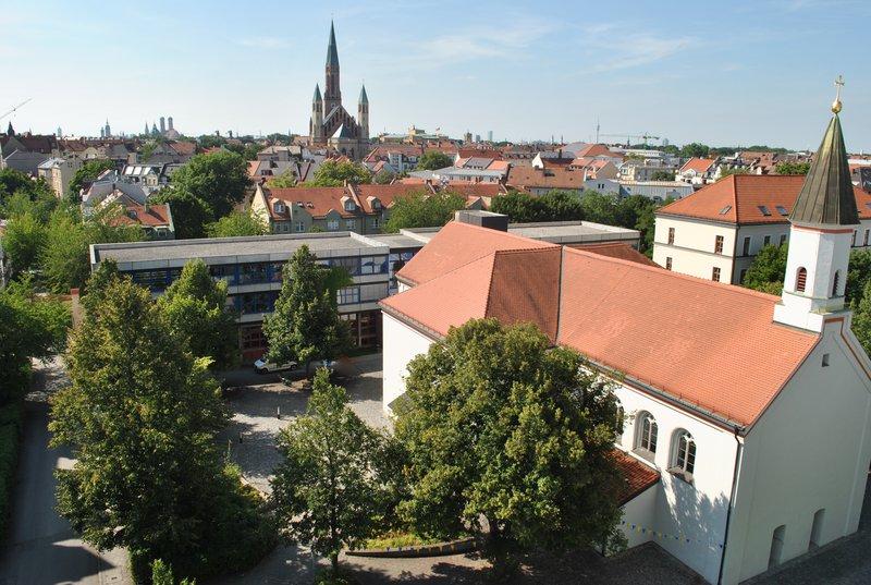 Campus von oben