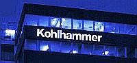 Kohlhammer Gebäude bei Nacht