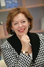 Thema Gesundheitsberufe: Vorstandvorsitzende Irene Maier - Foto: VPU