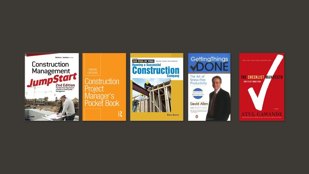 5 Books Every Construction Project Managers Should Have