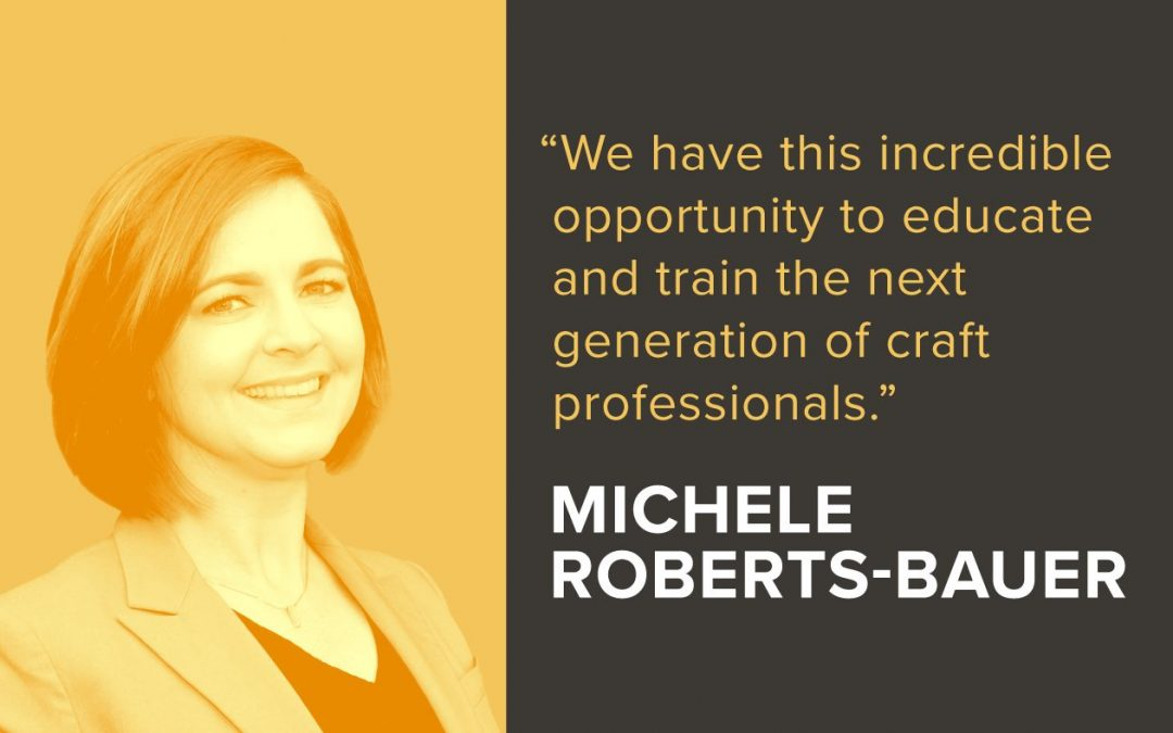 Builtcast: How Michele Roberts-Bauer Is Developing The Next Generation Of Construction Trades