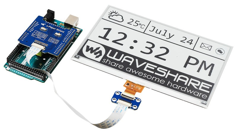 E-Ink для Arduino