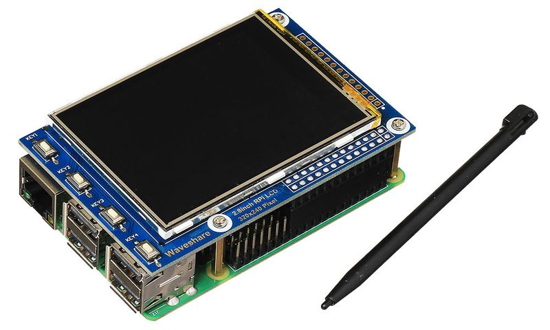 SPI-дисплей для Raspberry Pi