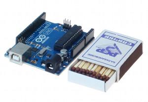 Arduino и спичечный коробок